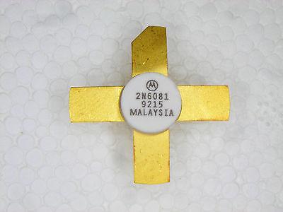 2n6081 Original Motorola Rf Transistor 1 Pc