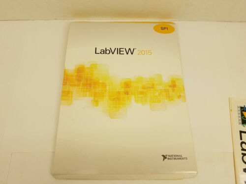 National Instruments LabView 2015 SP1 DVD Set (Platform, (2) NI Drivers)