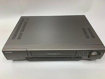 Toshiba Time Lapse Video Cassette Recorder Kv-9168a