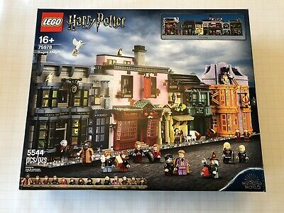 New LEGO Harry Potter Diagon Alley 75978 - Ready To Ship