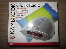 PRICE REDUCED!!! Kambrook AM/FM Alarm Clock Radio BRAND NEW!!!!! Chatswood Willoughby Area Preview