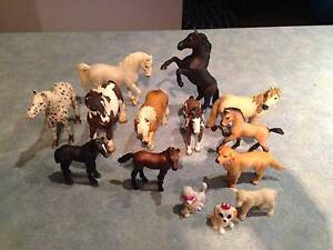 Schleich Horses, Foal, dog and Sheep Medowie Port Stephens Area Preview