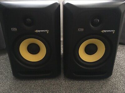 KRK Rokit RP6 G3 Active Studio Monitor Speaker (Pair)