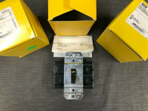 Hubbell Manual Motor Disconnect Switch HBL7863D, 3 Pole, 10HP@240, 25HP@480
