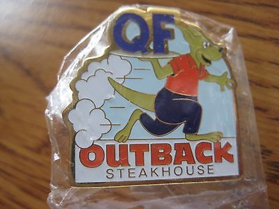 Outback Steakhouse Restaurant QF Quick Food Pin Pinback NIP