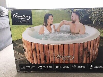 Clever Spa Sequoia hot tub 4 adults brand new like lay z spa Jacuzzi