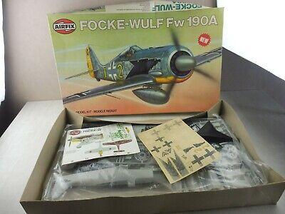 Maquette avion Focke Wulf fw190A 16001-8 Airfix 1981 1:24