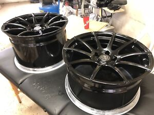 Z06 forgestar wheels and tires NEW