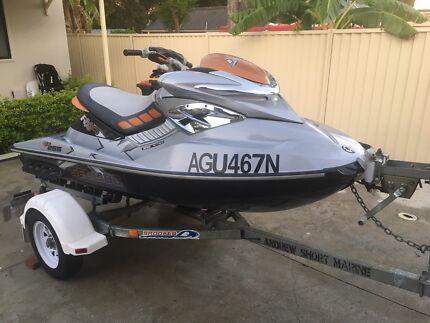 Jet ski seadoo rxp 255 supercharger