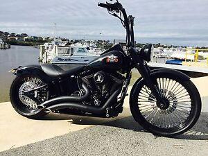 Harley Davidson Softail Deluxe Full Custom Australian Delivered Fremantle Fremantle Area Preview