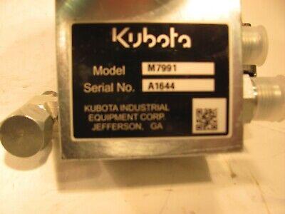 Kubota M 7991 Hydraulic Control Valve Nachi P-sa-go3-c7y-d1-5463f