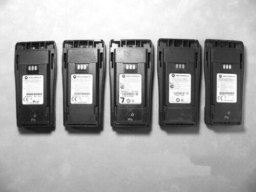 Five Motorola NNTN4851A NiMH Batteries CP200 PR400