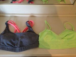 Lululemon Sports Bra - Size 4 and Size 6 - Like New