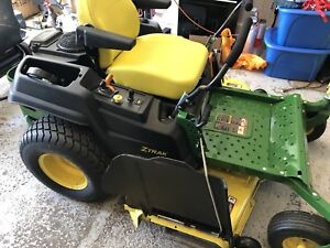 John Deere Z540M zero turn 3 years 300hours warranty left