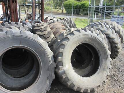 Grader, Loader, Tractor, Crane Tyres (Used) from $150.00 Minden Somerset Area Preview