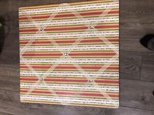 Ribbon bulletin board $10