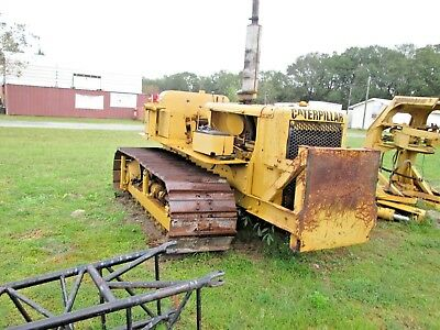 Caterpillar D5 Push Pull Dozer Export