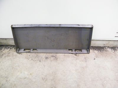 Universal Skid Steer Quick Attach Mounting Plate Us Made Extreme Duty 38 Weld