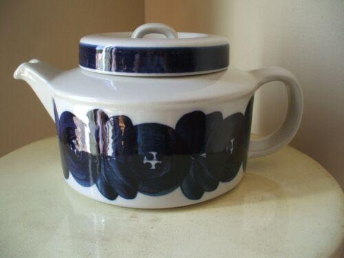 Vintage Arabia Finland Anemone Teapot W/ Strainer