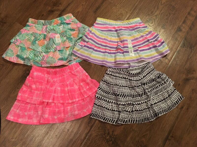 NWT~Girls Size 4T Scooter Skorts~Lot of 4~Jumping Beans