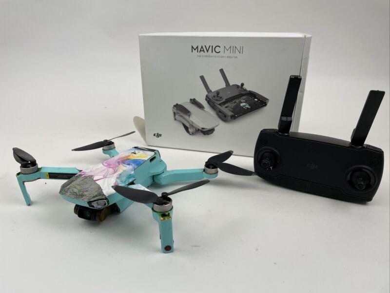 DJI Mavic Mini Drone - Flys But Drifts No Battery