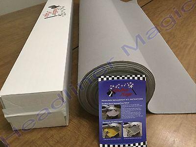 Light Gray Upholstery Auto Pro Headliner Fabric 3 16  Foam Backing 72 L X 60 W