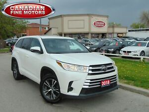 2018 Toyota Highlander LE |7 PASS|DUAL DVD| BACK UP CAMERA|