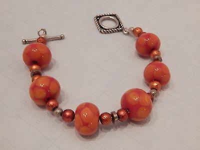 Jewlery, orange bead braclet - Orange Braclet