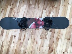 Rossignal Snowboard 150 and bindings for sale