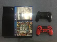 PS4 + 2 controllers + 2 games Bakewell Palmerston Area Preview