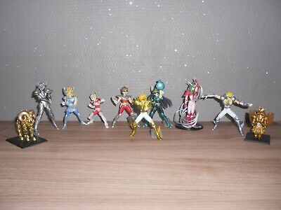 Lot 10 Saint Seiya Gashapon Bandai Chevalier Du Zodiaque