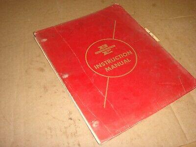 Oem Bucyrus-erie 38b Excavator Crane Dragline Instruction Service Catalog Manual