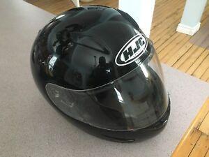 HJC motorcycle helmet- black