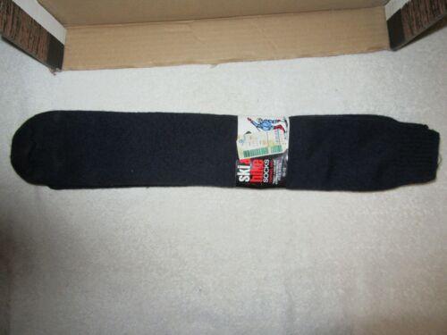 "Vtg NOS Ballston ""Kray"" ""Wool"" Ski & Hike Socks-Terry Lined Thermal Knit-10-13"