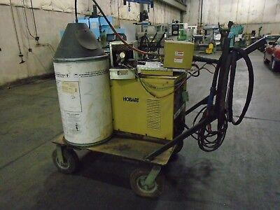 Hobart Arc-master 351 Welder Wire Mig 2410 Cooling Cart Cables