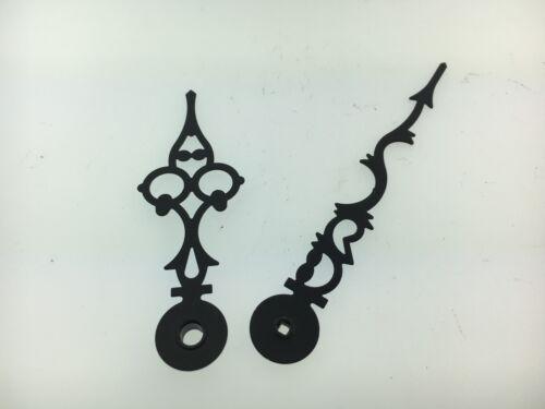 """Hermle Clock Hand Set Serpentine Original for 8"""" Dial"""