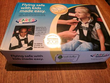 Cares Harness - kids fly safe - child aviation restraint