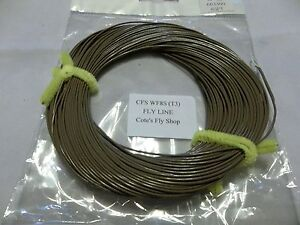 Cote-039-s-Fly-Shop-private-label-fly-line-WF8S-T3-sinking-Line-brown-3IPS