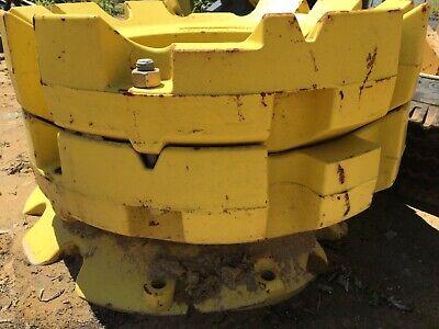 John Deere Tractor Wheel Weights 4 450 Lb Ea. R207782 8000 Series