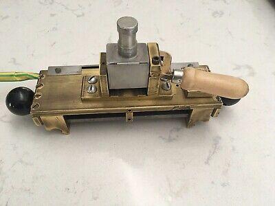 Kwikprint Foil Stamping Embossing Machine 6 X 2 Typeholder Type Holder