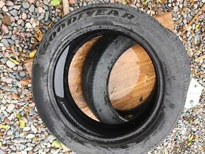 Two tires 225/50R18