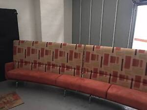 Mid Century 60's retro 3 piece curved modular sofa lounge Enmore Marrickville Area Preview