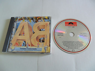 ABBA - Live (CD) WEST GERMANY Pressing