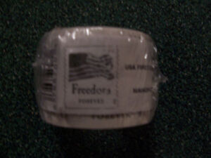 New or Unused roll or coil 100 US forever postage stamps - free shipping! LOOK !