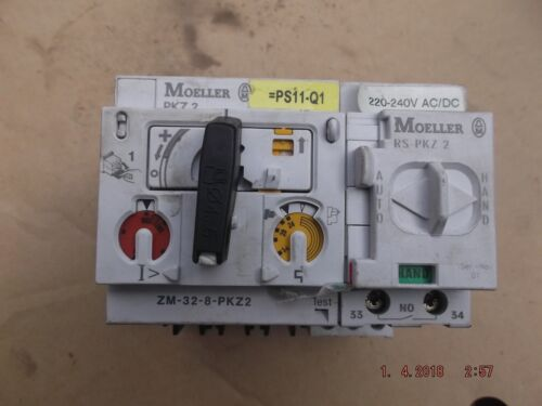 electrical control device contactor etc off automation equipt moeller