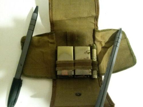 WWII GI shaving kit Ever-ready package razor w case