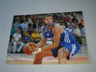 Joffrey Lauvergne Frankreich Basketball NBA signed signiert Autogramm 20x28 Foto