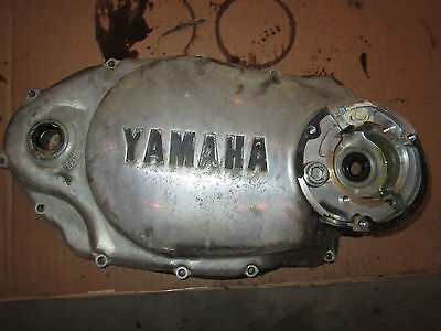 1975 Yamaha XS500 TX XS 500 clutch cover side clutches engine motor