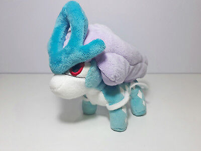 "Pokemon GO Suicune Plush Toy Stuffed Soft Doll 5.5"" Xmas Gift kids US seller"