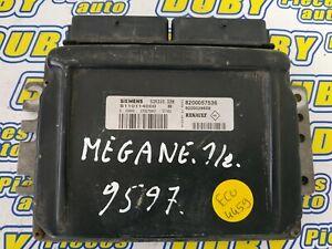 Calculateur décodé RENAULT MEGANE 2 SCENIC II SID301 S122326113 A 8200804775